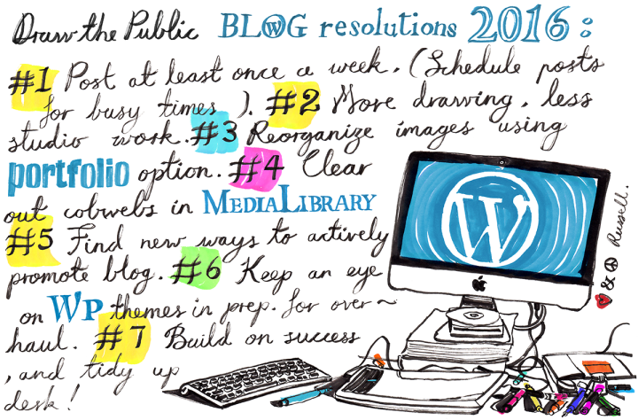Blog resolutions for 2016, by Russell Jackson at Draw the Public.